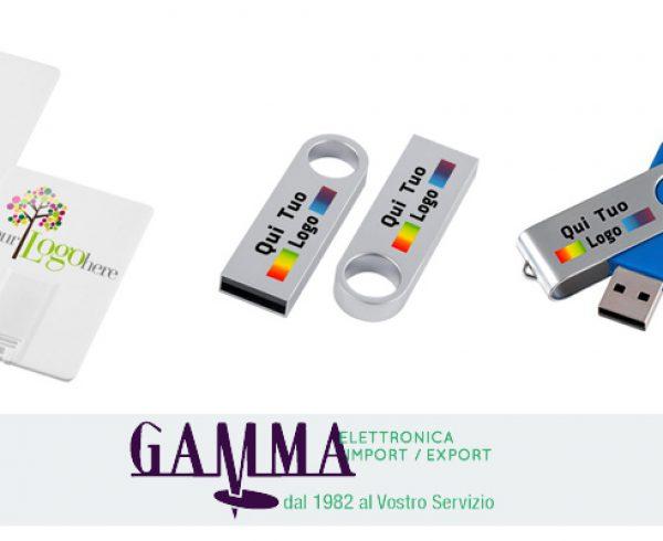 f0b8ce5597 Chiavette USB personalizzate per privati - Gamma Elettronica ...