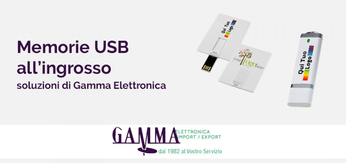 ee64f14e77 Chiavette USB all'ingrosso | Gamma Elettronica | Import e Pronta ...